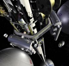 太空空间站图片
