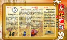 文化广场之四大发明展板图片