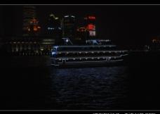 上海 黄浦江畔 陆家嘴 夜景图片