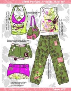 服装印花书籍图片