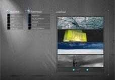 FlashXml个人主页中文素材模板图片