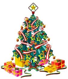 圣诞 圣诞树 节日素材 设计素材图片