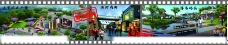 V1购物广场背景板图片