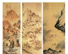 中国名画素材图片