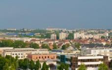 法国 第戎 城区一角图片