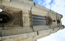 剑桥大学的欧式建筑图片