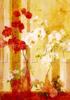 花卉油画  50厘米 X 70厘米