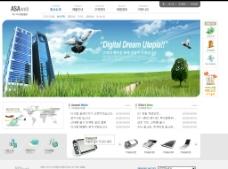 韩国科技网站图片