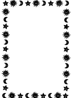 花边边框相框底纹设计卡通贺卡图片