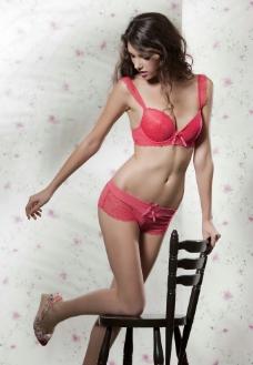 性感美女 内衣模特图片