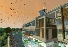 江南清漪园max室外模型动画图片