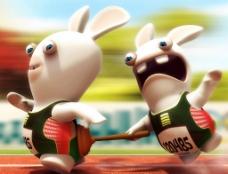 兔子赛跑图片